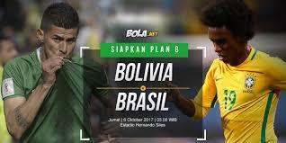 Bola Net Prediksi Bolivia Vs Brasil 6 Oktober 2017 Bola Net