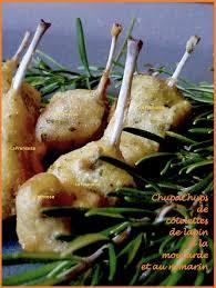 lapin cuisine marmiton chupachups de côtelettes de lapin à la moutarde et au romarin la