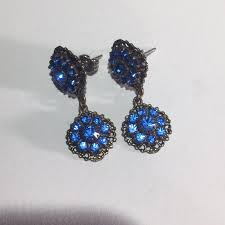 royal blue earrings 77 jewelry royal blue kenny ma earrings from c j s closet