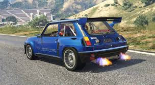 renault 5 renault 5 turbo add on replace tuning livery gta5 mods com