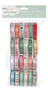 spools of ribbon american crafts ribbon value pack 24 1 yard spools