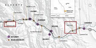 Trans Canada Highway Map by Making Highway 3 Wildlife Friendly U2014 Yellowstone To Yukon