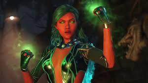 Starfire Costume Injustice 2 Starfire Emoticlone Craziness Costume Skin Gameplay