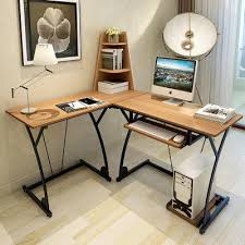 study table l new modern multi functional l shape end 7 30 2018 10 15 pm