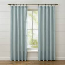 Citrine Curtains Curtain Panels And Window Coverings Crate And Barrel