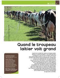 chambre d agriculture des cotes d armor calaméo quand le troupeau laitier voit grand