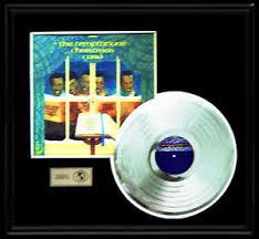 temptations christmas album the temptations christmas card gold record platinum disc lp