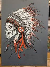 indian headdress tattoo on ribs love old school indian skull headdress tattoos change the heart to