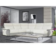 canapé angle u canapé angle u droit 1 rlx whitley cuir croûte tissu blanc
