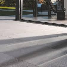 Granite Patio Stones Silver Grey Natural Granite Paving Slab L 300mm W 300mm 7 2 M