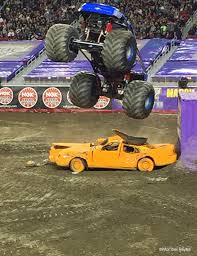 grave digger north carolina monster truck stroller adventures monster jam event review