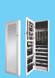 Jewelry Armoire With Lock And Key Btexpert Over The Door Hanging Jewelry Armoire Cabinet Organizer