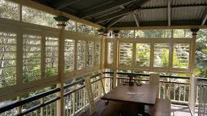 Outdoor Enclosed Rooms - outdoor living enclosed deck patio or porch traditional