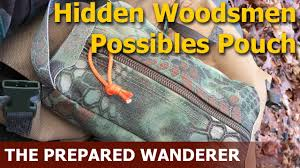 Woodsman Supply Hidden Woodsmen Possibles Pouch Youtube