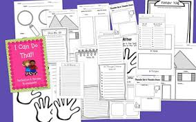 stars and wishes i can do that u0026 freebie reflection worksheets