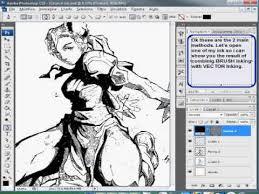 tutorial photoshop cs3 videos photoshop cs3 digital inking tutorial part 3 3 video how to draw