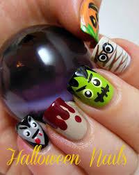 easy diy halloween nail art designs diy halloween and nail