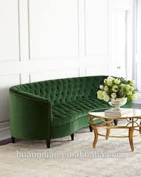 Custom Chesterfield Sofa Custom Made Furniture China Export Green Velvet Fabric Handcrafted
