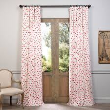 Curtains Printed Designs Sweethearts Printed Cotton Curtain Designer Curtains