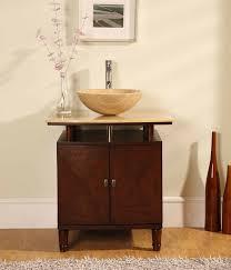 Perfecta PA Bathroom Vanity Single Sink Cabinet English - Bathroom vanity cabinet for vessel sink