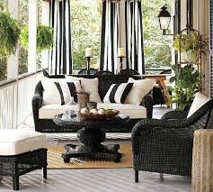 Front Porch Patio Furniture by Best 25 Wicker Patio Furniture Ideas On Pinterest Grey Basement
