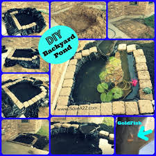 DIY Easy Backyard Pond Design Idea Backyard Pond Design And - Diy backyard design