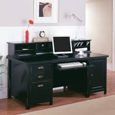 Computer Hutch With Doors Computer Table Exceptional Computer Desk With Doors Image