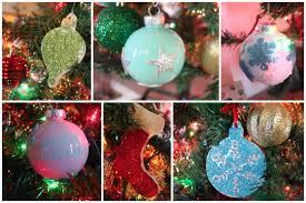 Glitter Christmas Ornaments Floor Wax by Diy Ornaments Glitter Ornaments And Paint Filled Ornaments