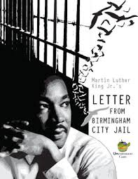martin luther king u0027s letter from birmingham jail a common core