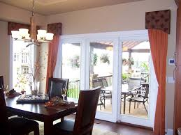 Window Dressings For Patio Doors Patio Door Window Treatment Ideas Home Intuitive