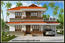 beautiful kerala style 2 storey house 2172 sq ft plan 126