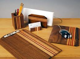 Wooden Desk Accessories Desk Design Ideas Furniture Maple Desk Accessories Filled Black