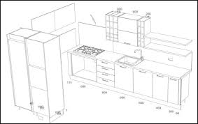 Kitchen Cabinet Dimensions Chic Design  Standard For Australian - Kitchen cabinet dimensions standard