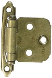 amerock bp3429g10 self closing face mount hinge with variable