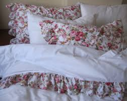 Shabby Chic Queen Sheets by Ruffled Sheet Etsy
