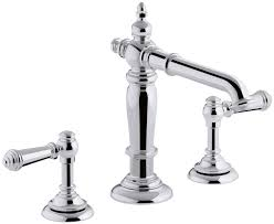 Amazon Bathroom Sink Faucets by Kohler K 98068 4 Cp Artifacts Bathroom Sink Lever Handles Less