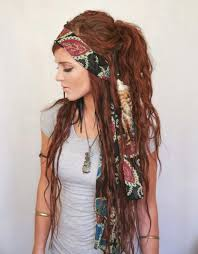 boho hair wraps amazing hippie hair style page 5 of 13 heart