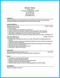 Support Technician Resume Writing Your Great Automotive Technician Resume