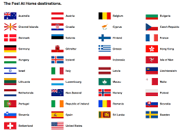 Country Flags Of The World Europe Cruise Sim Card Mrsimcard