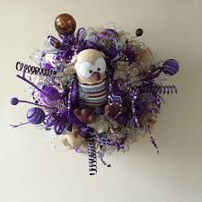 fall wreath halloween wreath crochet owl deco mesh wreath home