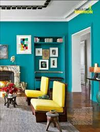 fabulous painted walls in fun bright colors of lemon yellow lime