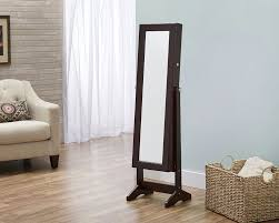cheval jewelry armoire innerspace luxury products cheval jewelry armoire with mirror