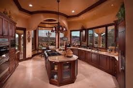 kitchen luxury kitchen design with brown wooden cabinet and