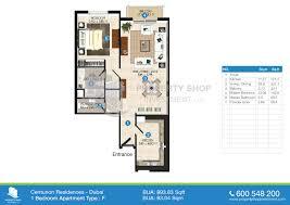 Shop Apartment Floor Plans Floor Plan Of Centurion Residence