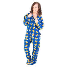 mug footed deluxe fleece pjs uni onesie footie pajamas
