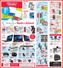office max depot back to school 2017 deals for the week of