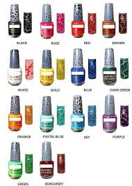 cbs exquisite nail polishes crackle