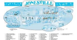 Hillsdale Michigan Map by Jonesville Michigan Advertising