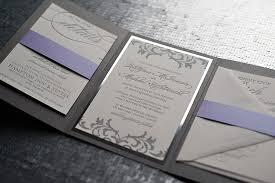 silver wedding invitations blueklip