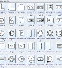 Kitchen Symbols For Floor Plans Floor Plan Symbols Objects And Textures For Rendered Floor Plans